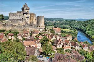 village et chateau de castelnaud