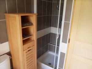 La douche à l'etage