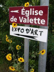 Eglise de Valette _photo F.EVRARD_La Bella Rocoma